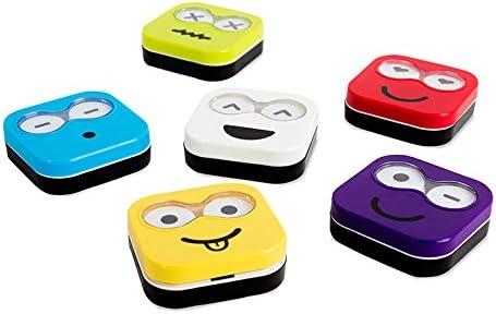 Balvi - Estuche lentillas Emoji display x12: Amazon.es: Hogar