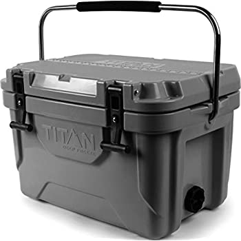 Image of Arctic Zone Titan Deep Freeze Premium Ice Chest Roto Cooler with Microban Anti-Microbial Protection Coolers