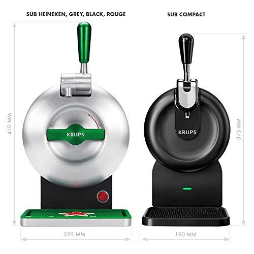 Pack Heineken THE SUB | Tirador de cerveza de barril THE SUB Heineken Edition + 2 TORP Cruzcampo Gran Reserva barril de cerveza de 2 litros: Amazon.es: ...