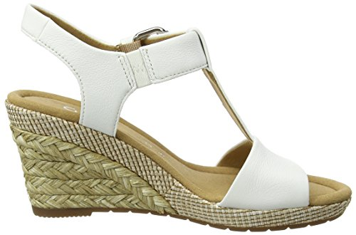 Gabor Women's Comfort Wedges White (Weiss (Bast) 50) UmIar