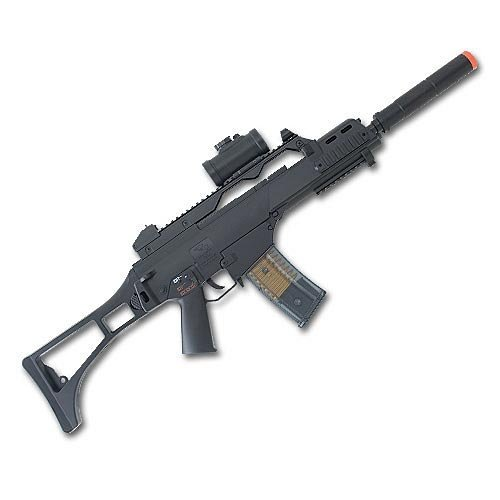(Double Eagle M85P AEG Electric Airsoft Gun Rifle)