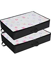 SimpleHouseware Under Bed Storage Bag Organizer, (2 Pack)