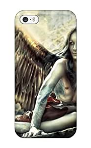 Hot BbofHmi422PYvfH Case Cover Protector For Iphone 5/5s- Angel