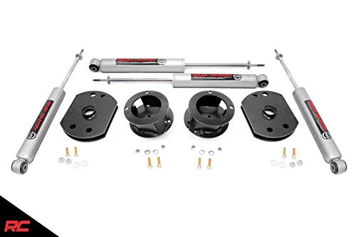"Rough Country 2.5"" Lift Kit (fits) 2014-2019 RAM Truck 2500 4WD Includes N3 Shocks Suspension System 30230"