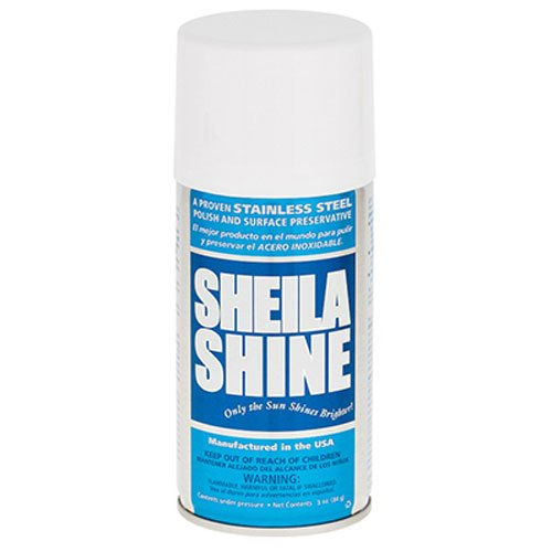 Sheila Shine Stainless Steel Cleaner - Sheila Shine SS3 3OZ SS Cleaner