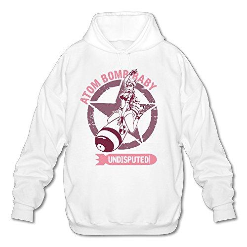 Herren-Atom-Bomb-Baby-Hooded-Sweatshirt