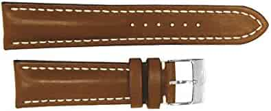 Breitling Brown Leather Strap 22/20 437X / 433X