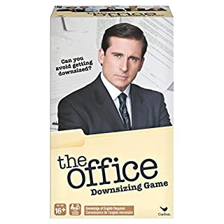 Spin Master Games The Office TV Show Downsizing Game, Retro Board Game for Adults, Multicolor (6054161)