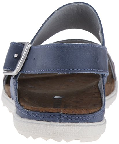 MerrellAround Town Backstrap - Zapatos Planos con Cordones Mujer Azul