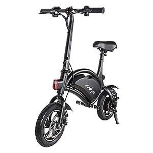 """Windgoo Bicicleta eléctrica Plegable Ruedas de 12"""",Batería de Litio de 4400-36v,Ebike para Adulto"""