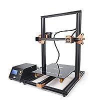 TEVO Tornado 3D Printer, DIY Printer 3D Printing PLA/ABS 300 x 300 x 400cm Gold and Black by TEVO