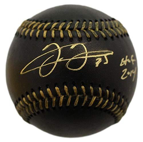 Frank Thomas Autographed Chicago White Sox OML Black Baseball HOF JSA