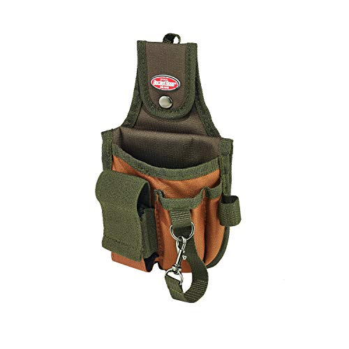 Bucket Boss Rear Guard Tool Pouch with FlapFit in Brown, 54120