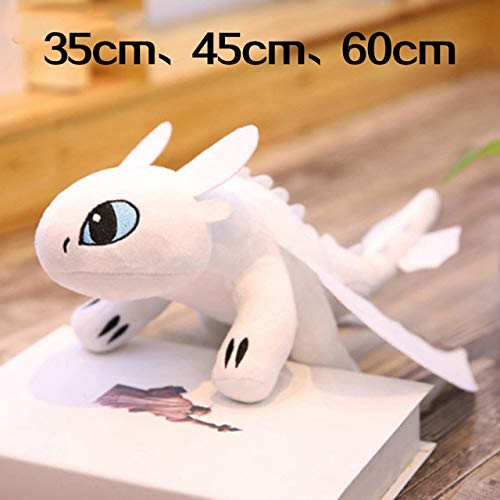 eSunny 35Cm 45Cm 60Cm How to Train Your Dragon 3 Toothless C Toys Anime Figure Night Fury Dragon Plush Doll Toys for Children Must Have Tools Unique Gifts Girls Favourite ()