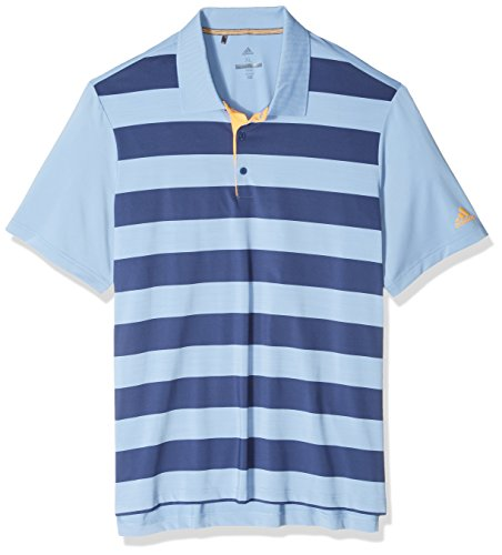 adidas Golf Mens Ultimate Rugby Stripe Polo
