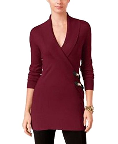 Picture of an INC International Concepts FauxWrap Tunic