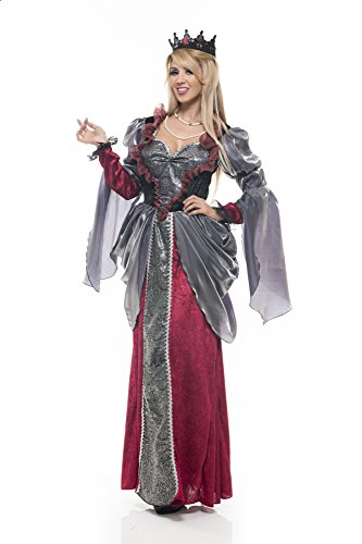 Charades Women's Renaissance Lady Costume, As Shown, X-Small