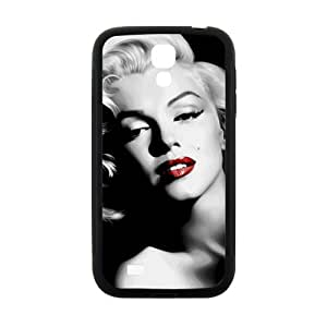 Marilyn Black and white Case Cover For samsung galaxy S4 Case