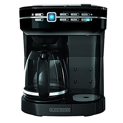 Black & Decker CM6000BD Cafe Select 2-in-1 Dual Brew, Black