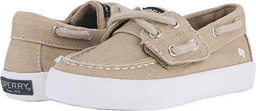 SPERRY Kids Baby Boy's Tuck Jr (Toddler/Little Kid) Saltwash Khaki 8 M US Toddler ()