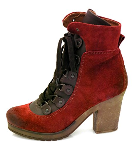 Leather Ankle Isabelle Shoes Rust Leather Boots Ankle Boots 5992 Boots Leather Boots Combat xHxEXvwn