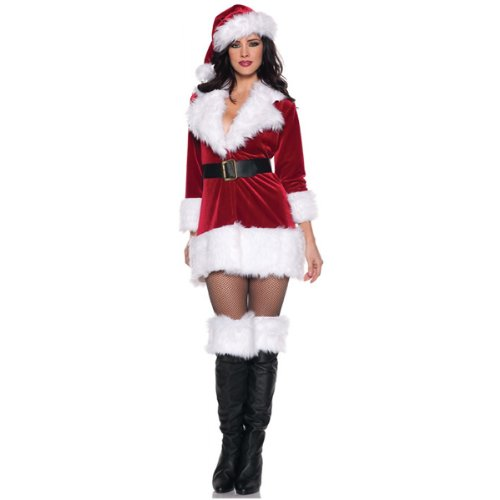 Secret Santa Costume - X-Large - Dress Size 14-16 (Secret Santa Costume)
