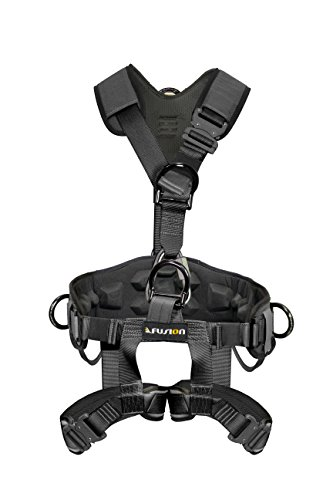 Fusion Tac-Rescue Specialty Harness, Black by Fusion