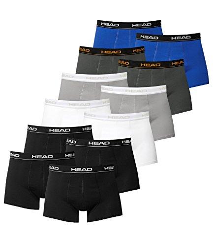 Schwarz 12 Boxers De En Paquete black Head Multicoloured Colores Hombre Grey Dark Weiß 4x Varios Blue Shadow 2x IvwACBBqH