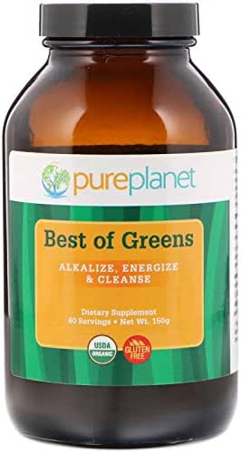 Pure Planet, Best of Greens, 150 Gram