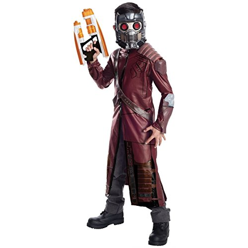 [GSG Deluxe Star-Lord Costume Kids Guardians of The Galaxy Halloween Fancy Dress] (Super Deluxe Vampires Vixen Sexy Costumes)