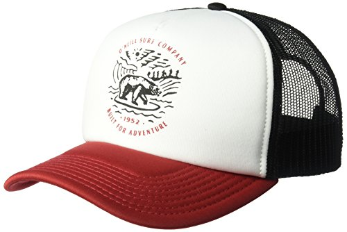 O'Neill Men's Trucker Hat, Breaker Red, One - Oneill Mesh Hat