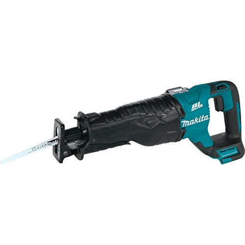 Makita XRJ05Z 18V LXT Lithium-Ion Brushless Cordless Recipro Saw, Tool Only (Renewed)