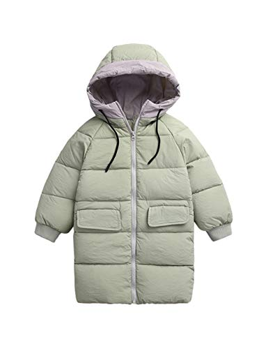 Jacket BESBOMIG Baby Overcoat Green Clothing Cute Kids Long Coat Windproof Unisex Children Solid Color Winter Hooded rtqtwA