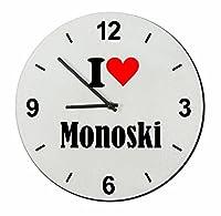 EXKLUSIV bei uns: Glasuhr I Love Monoski eine tolle Geschenkidee für deinen...