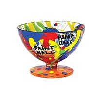 Lolita Hand Painted Glass Sundae Bowl, Paint Ball