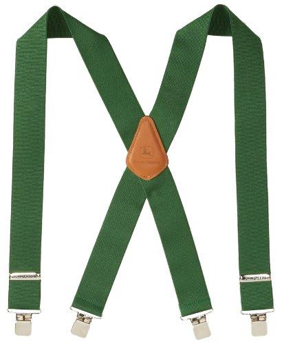 "John Deere Men's 2"" Logger-Style Suspenders"