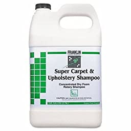 Franklin F538022 1 Gallon Super Carpet And Upholstery Concentrated Dry Foam Rotary Shampoo Bottle (Case of 4)