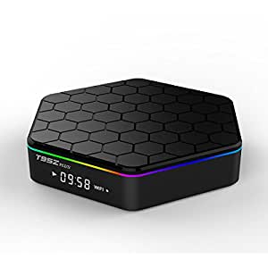 T95Z Plus Android TV Box Amlogic S912 Octa Core Android 6.0 Marshmallow 2GB DDR RAM /16GB eMMC ROM Dual WiFi 2.4GHz/5GHz Bluetooth 4.0 1000M Ethernet H.265 support 4K resolution Streaming Media Player