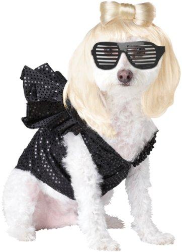 Lady Dogga Pet Pet Costume - Large