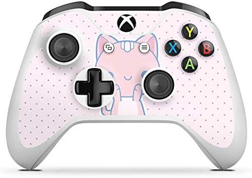 Microsoft Xbox One S protector de pantalla Pegatinas Skin de vinilo adhesivo decorativo Cat Gato kawaii: Amazon.es: Electrónica