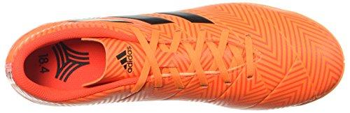 Nemeziz adidas Black Tango Men's Indoor Soccer 18 Zest Red Solar 4 Shoe SSq5wrz