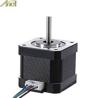 Amazon.com: Anet 42 motor paso a paso para 3d impresora DIY ...