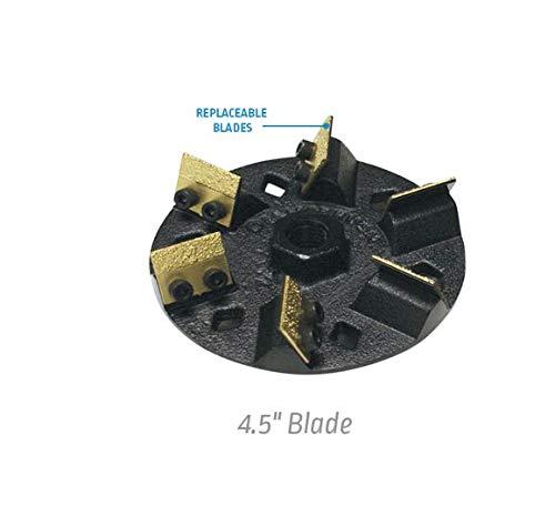 924562201 25 Grit 6 Blade Diamabrush Removal Hand Tool 4.5 Inch