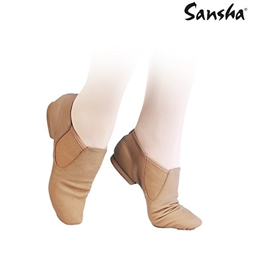 Sansha js31lco Moderno Damen Jazz-Schuhe beige