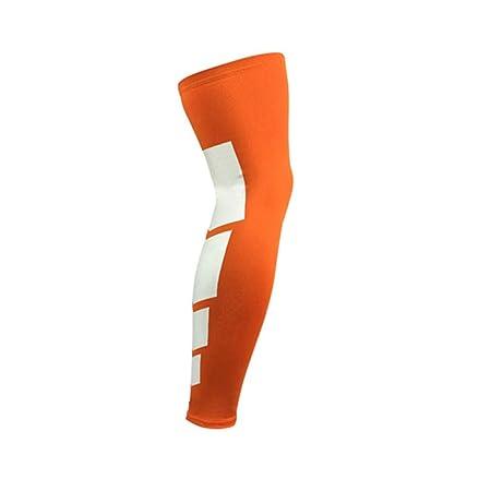 1PCS Super Elastic Lycra Baloncesto Calentadores de piernas ...