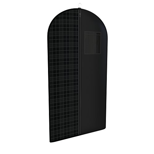 Black Tartan Tuxedo Garment Travel Bags 3 Pack With ID Tag Window - 48'' X 24'' by Your Bags (Image #1)