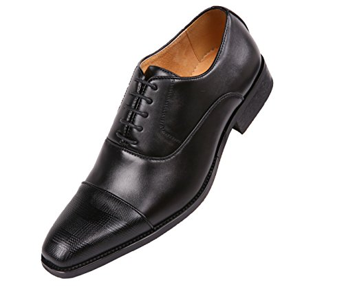 Amali Smooth Oxford with Houndstooth Laser Embossed Cap Toe Dress Shoe Style Conrad Black for sale buy authentic online 5ho0sEC9E