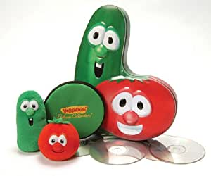 VeggieTales: Bob & Larry Deluxe Collector's Tin (Amazon Exclusive)