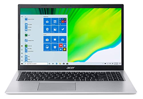 Acer Aspire 5 Intel Core i3 11th Generation 15.6″ (39.62 cms) – (4 GB/256 GB SSD/MS Office 2019/Windows 10 Home/Intel UHD Graphics /1.65Kg/Silver) A515-56