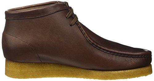 Sebago Koala Hi, Zapatos de Cordones Brogue Unisex Adulto Marrón - Marrone (Leather Brown)